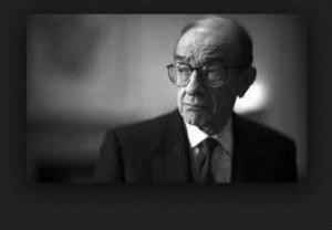 Alan Greenspan portriat