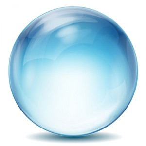 Tell the future with a crystal ball.
