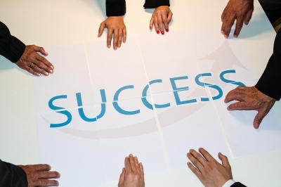 Working with a competent team results in success!