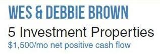 Wes & Debbie Brown Title